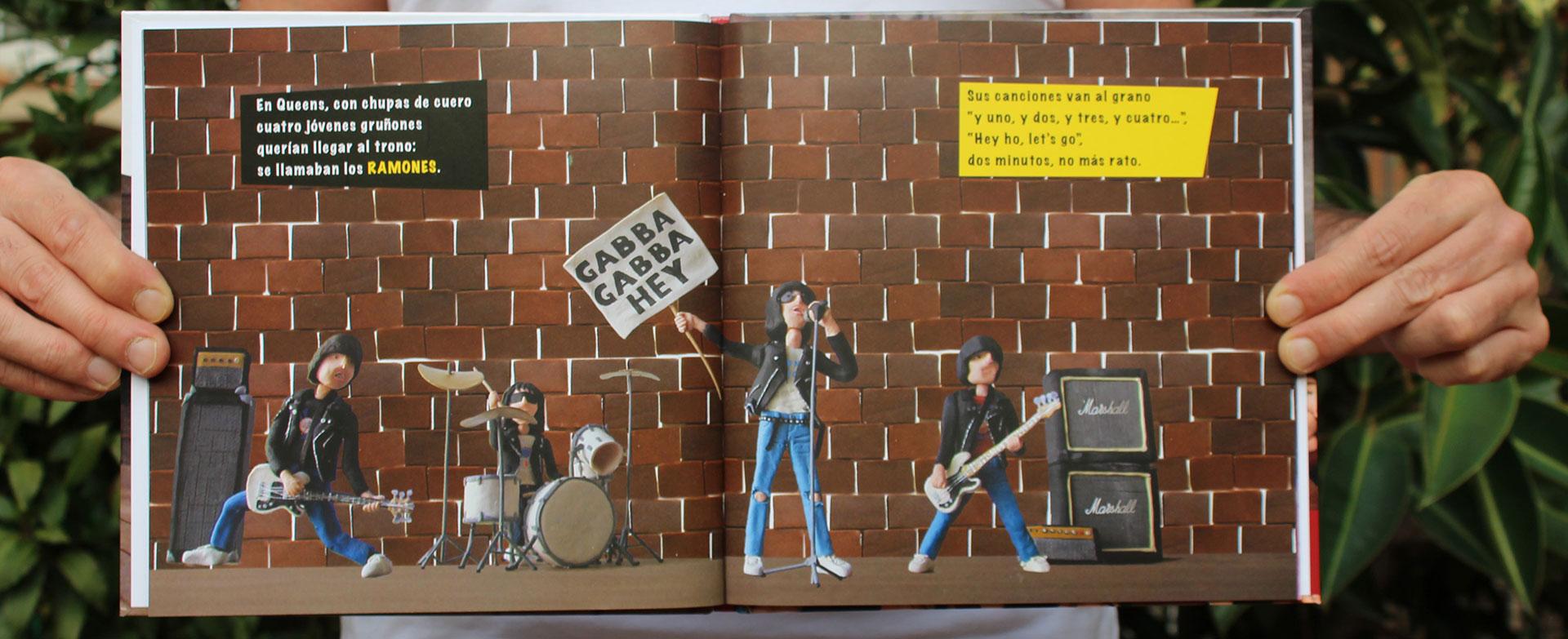 Página interna del libro ¿Qué es el Punk?
